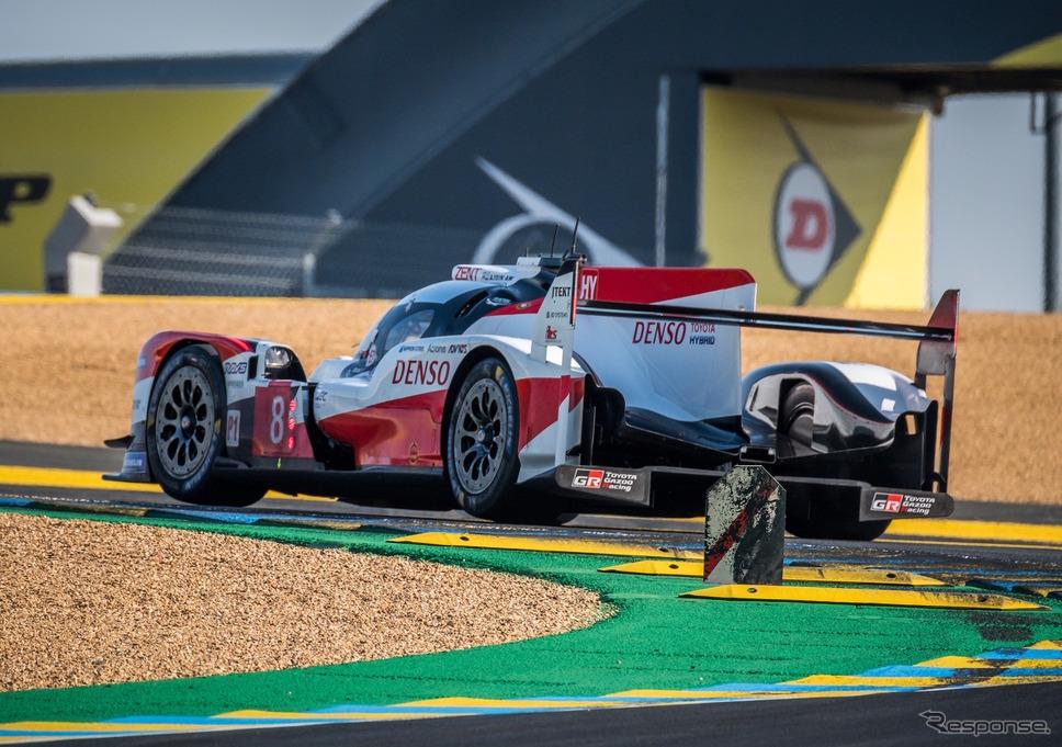 2020年のルマン24時間、LMP1クラス予選3位の#8 トヨタ(中嶋一貴組)。《写真提供 TOYOTA》