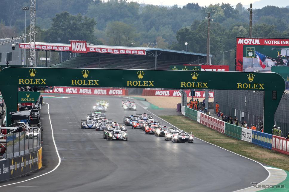 ルマン24時間レーススタート(9月19日)《photo by Toyota GAZOO Racing》