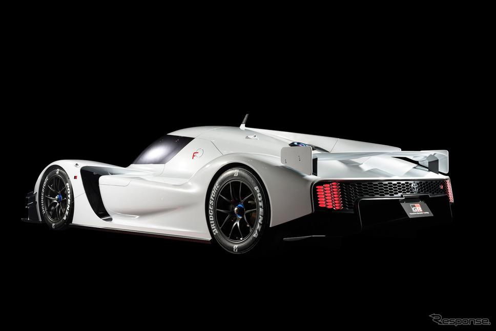 トヨタGRスーパースポーツ・プロトタイプ(2018年)《写真提供 トヨタ自動車》
