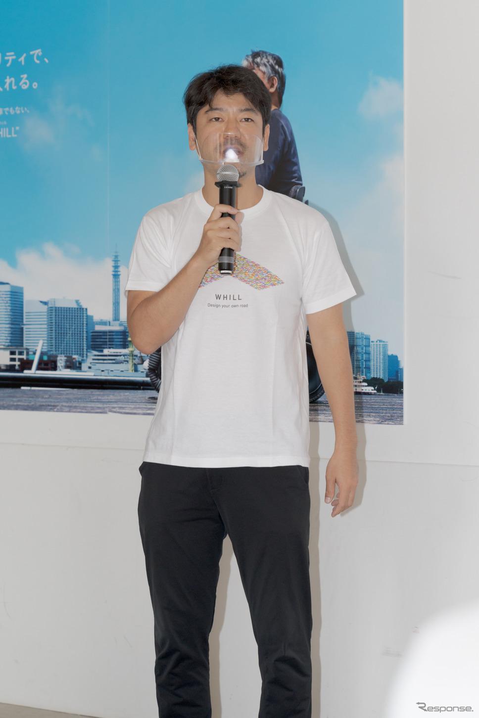 代表締役兼CEO・杉江理氏《写真撮影 関口敬文》