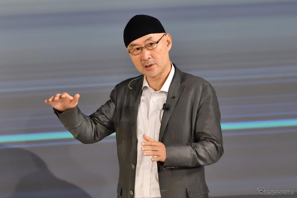 エグゼクティブデザインダイレクターの田井悟氏《写真撮影 雪岡直樹》