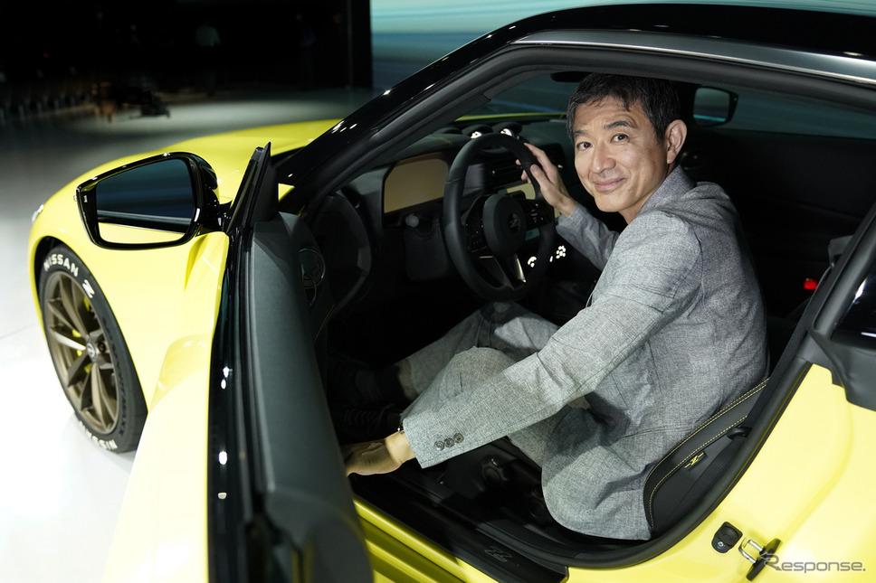 チーフプロダクトスペシャリストの田村宏志氏《写真提供 日産自動車》