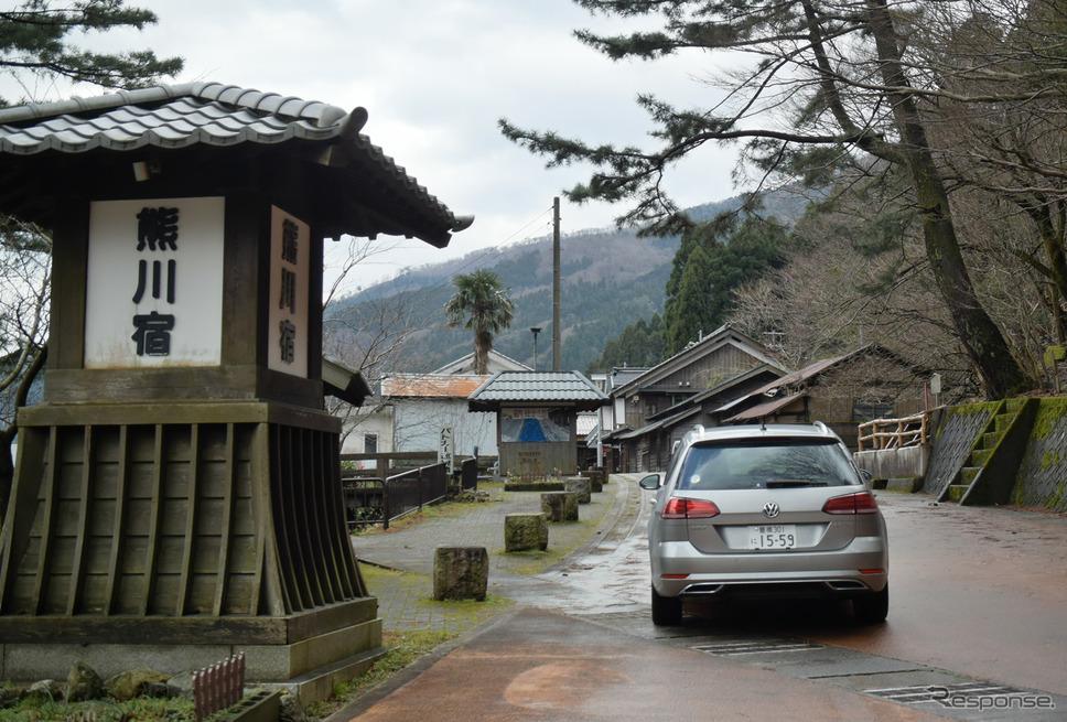 大河ドラマ「麒麟がゆく」にも出てきた鯖街道の古い宿場町、熊川宿にて。《写真撮影 井元康一郎》