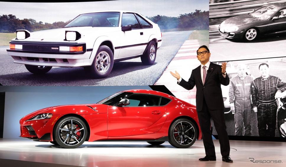 トヨタ・スープラ 新型(デトロイトモーターショー2019)《写真 トヨタ自動車》