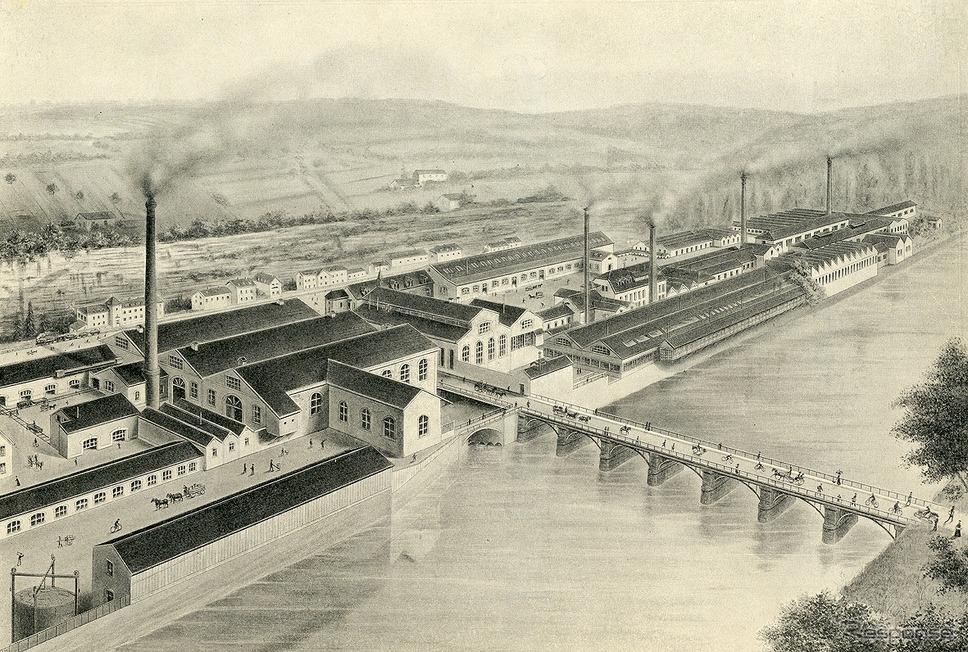 1810年、フランス東部のエリモンクールを拠点に、ジャン=ピエール・プジョー、ジャン=フレデリック・プジョー兄弟による家族経営の製鉄業として、プジョーはスタート《写真提供 aidea》