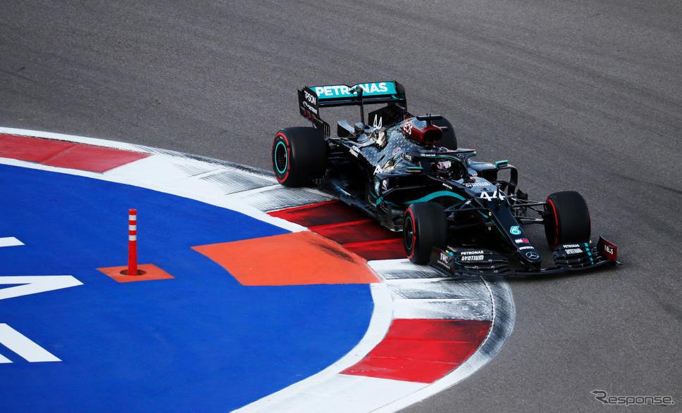 F1ロシアGP《Photo by Yuri Kochetkov - Pool/Getty Images Sport/ゲッティイメージズ》
