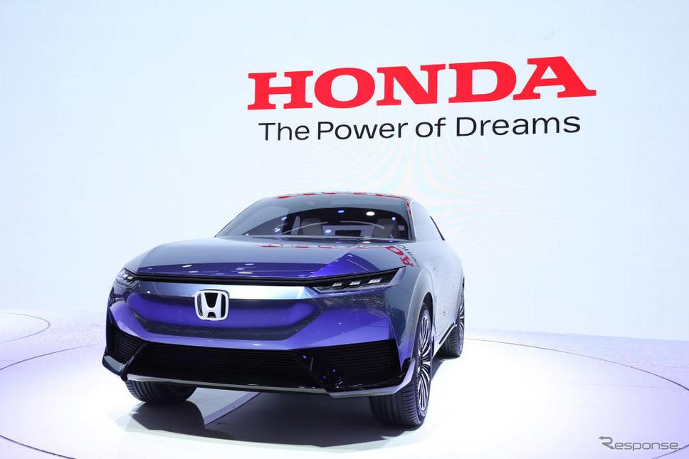 ホンダSUV e:コンセプト(北京モーターショー2020)《Photo by VCG/VCG via Getty Images/ゲッティイメージズ》