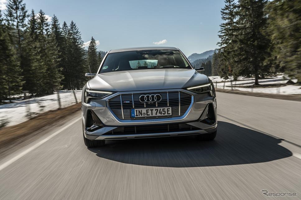 アウディe-tronスポーツバック《photo by Audi》