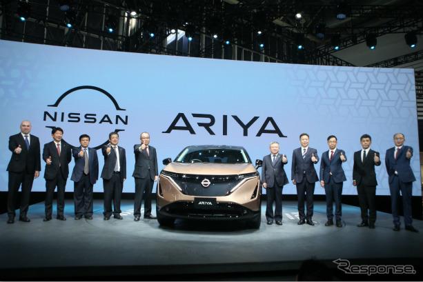 日産アリア(9月26日、北京モーターショー2020)《photo by Nissan》