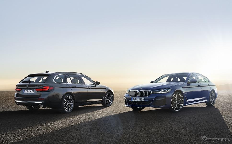 BMW 5シリーズ 改良新型 セダン/ツーリング《写真提供 ビー・エム・ダブリュー》