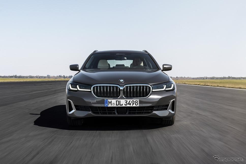 BMW 530iツーリング《写真提供 ビー・エム・ダブリュー》