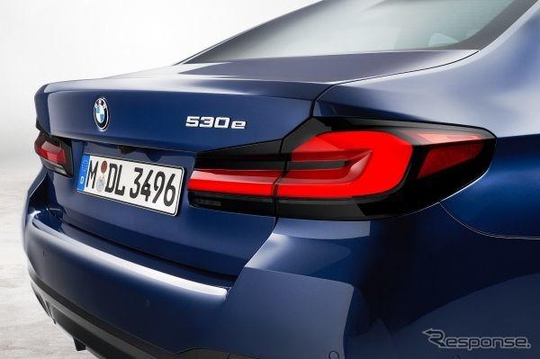 BMW 5シリーズ改良新型《写真提供 ビー・エム・ダブリュー》