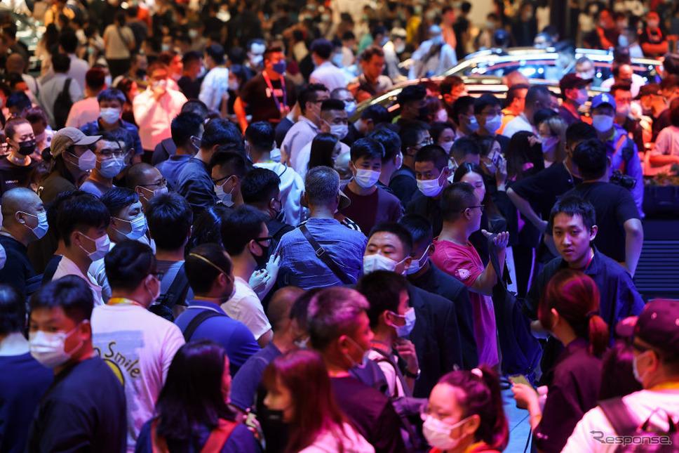 北京モーターショー2020《Photo by Lintao Zhang/Getty Images News/ゲッティイメージズ》
