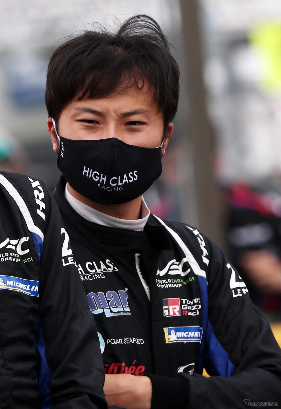 LMP2クラスのチームからルマンに出場した山下健太。《写真提供 TOYOTA》