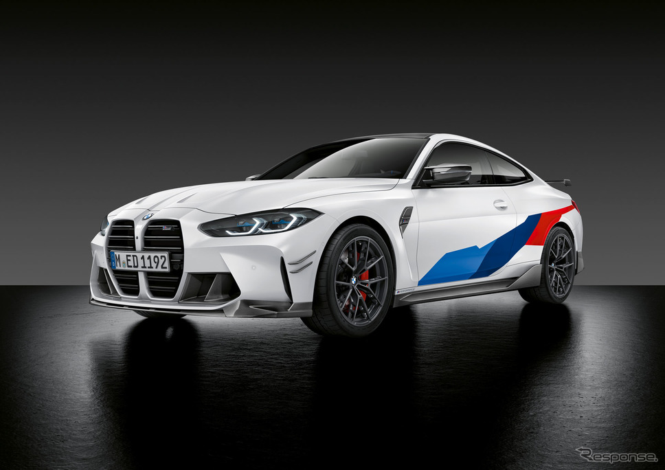 BMW M4 新型のMパフォーマンスパーツ《photo by BMW》