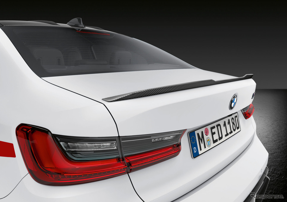 BMW M3 新型のMパフォーマンスパーツ《photo by BMW》