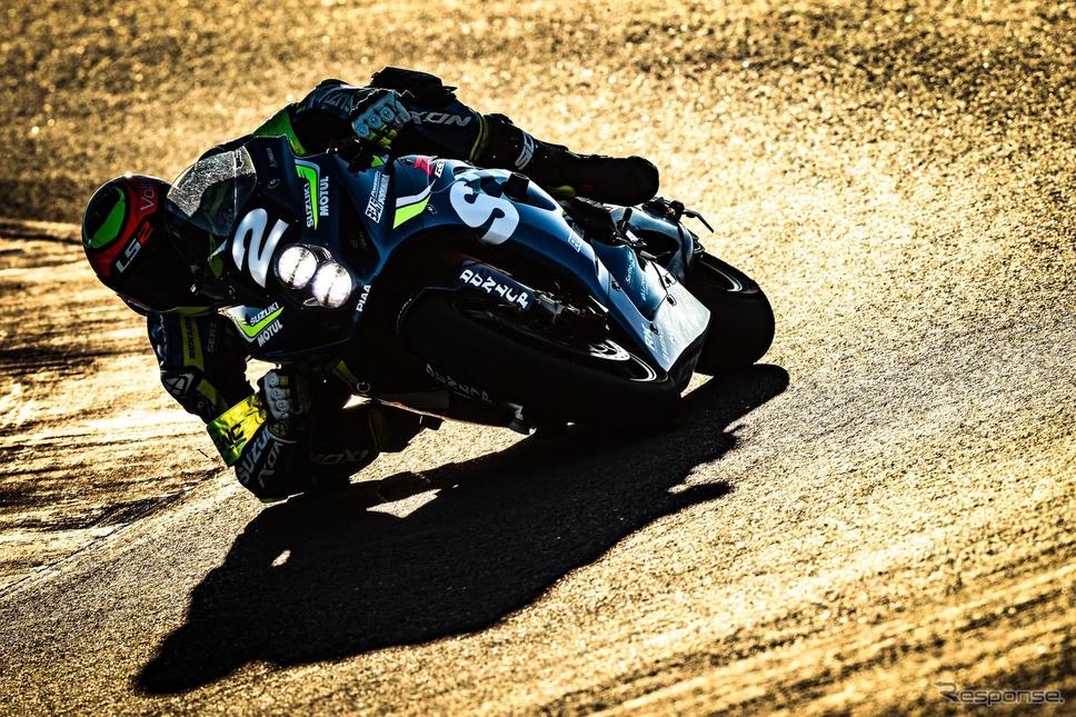 スズキ・エンデュランス・レーシングチーム、グレッグ選手(エストリル12時間)《photo by Suzuki》