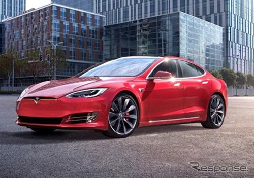 テスラ・モデルS(参考)《photo by Tesla》