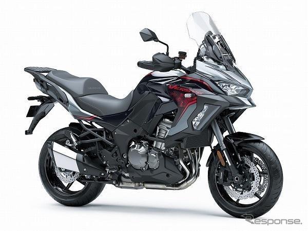 カワサキ ヴェルシス1000SE 2021年モデル《写真提供 川崎重工業》