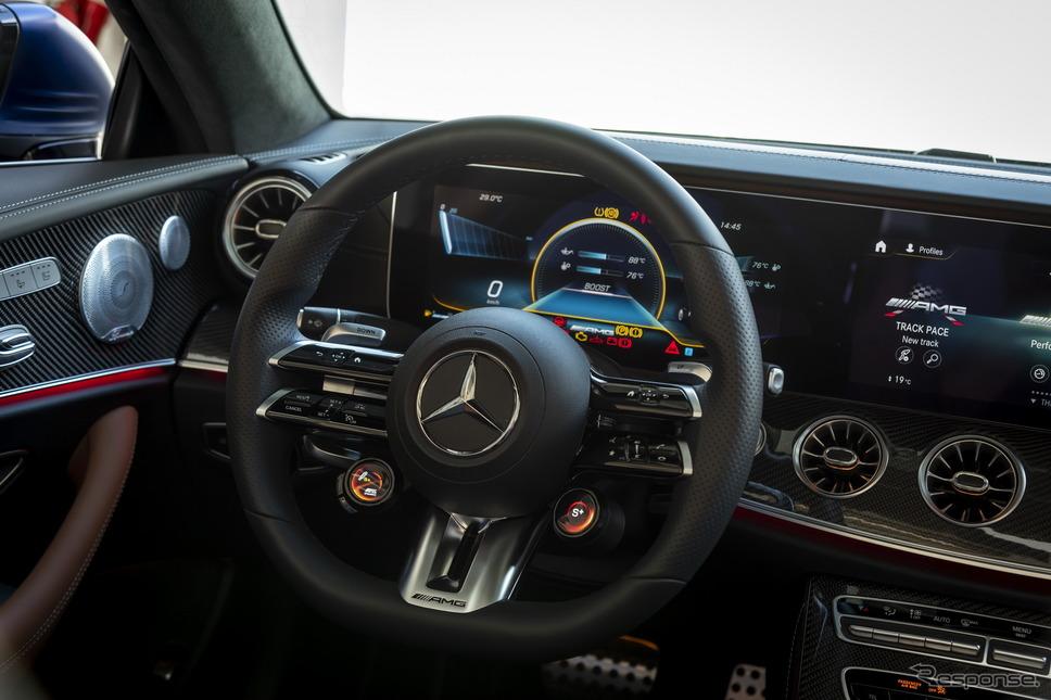 メルセデスAMG E53 4MATIC+ カブリオレ 改良新型《photo by Mercedes-Benz》