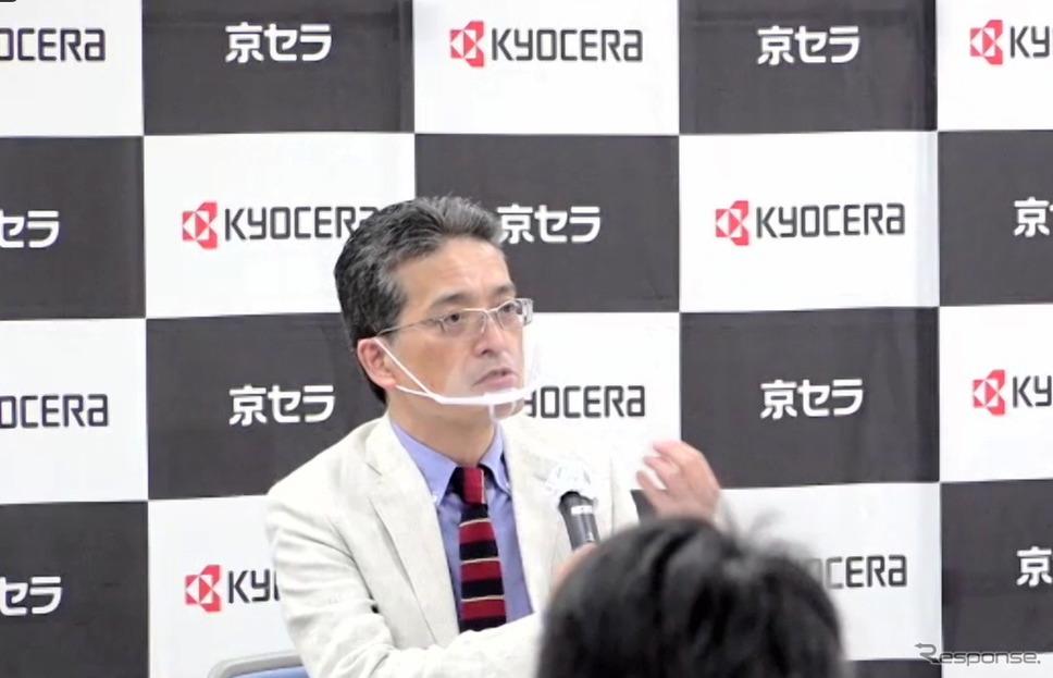 稲垣正祥執行役員上席《写真:ウェブ中継画面から》
