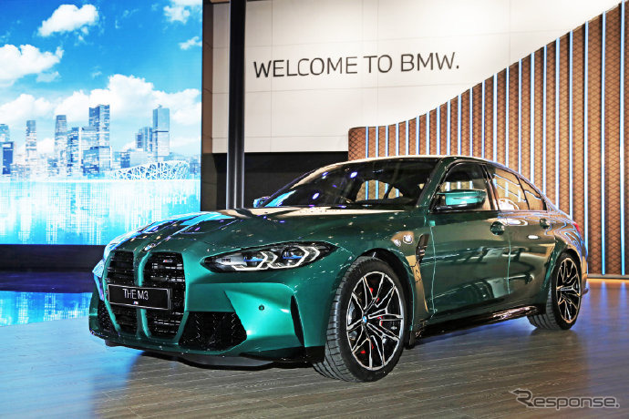 BMW M3セダン 新型(北京モーターショー2020)《photo by BMW》