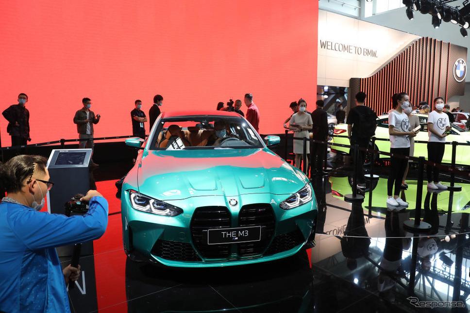 BMW M3セダン新型(北京モーターショー2020)《Photo by VCG/VCG via Getty Images/ゲッティイメージズ》