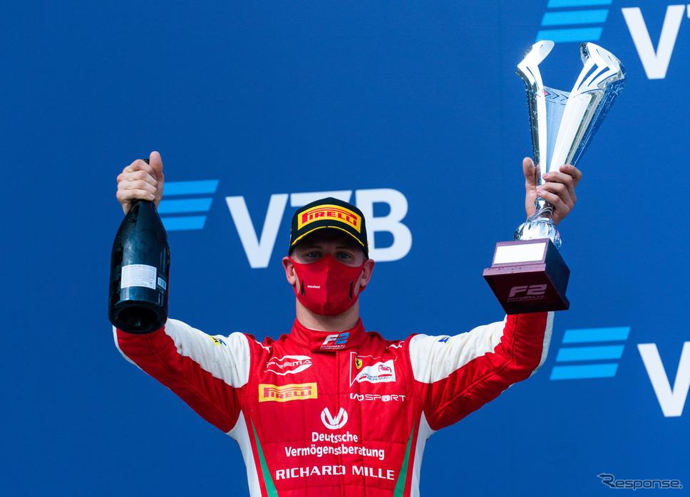 ミック・シューマッハは今季F2で目下シリーズリーダーである。《写真提供 Ferrari》