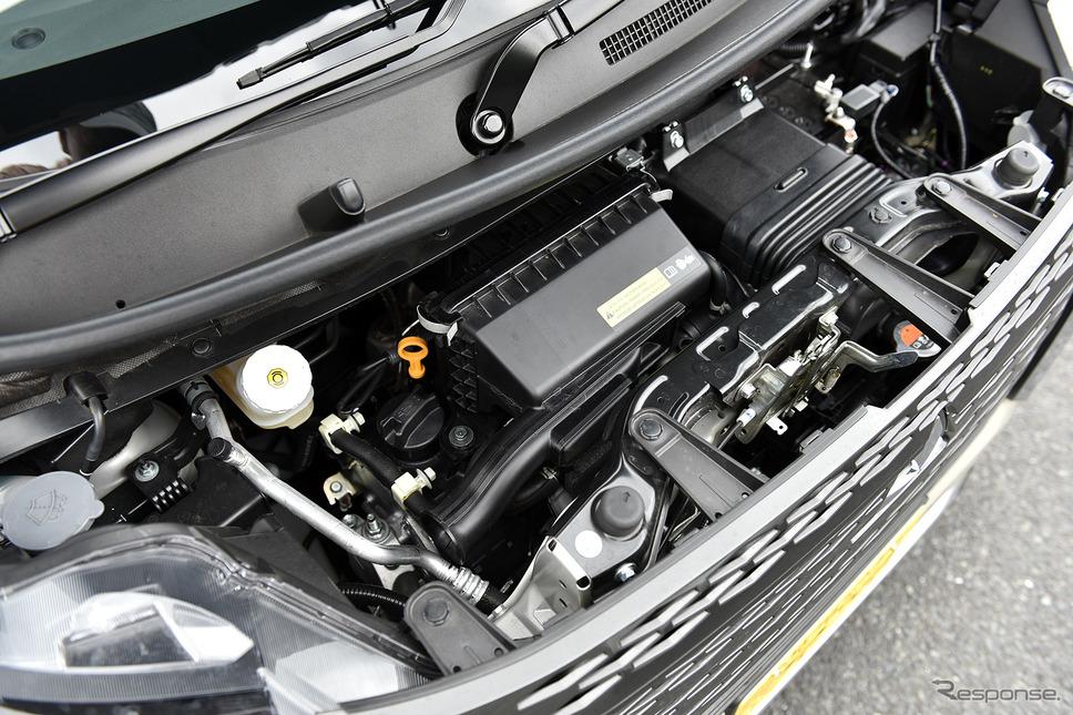 ターボエンジン(写真は三菱 eKクロススペース)《写真撮影 中野英幸》