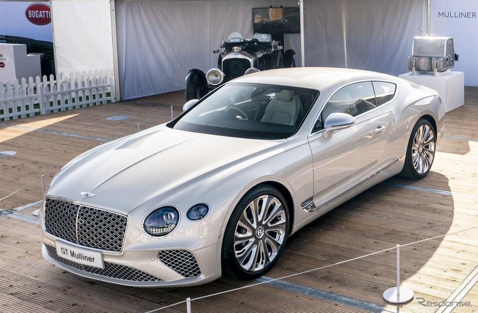 ベントレー・コンチネンタル GT マリナー 新型(サロン・プリヴェ2020)《photo by Bentley》