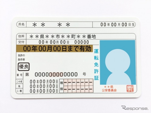 ゴールド免許(イメージ)《画像提供 写真AC》