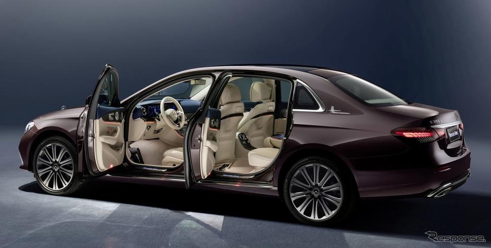 メルセデスベンツ Eクラス L 改良新型《photo by Mercedes-Benz》