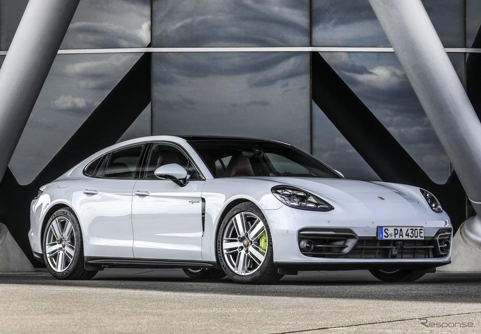 ポルシェ・パナメーラ 4S E-ハイブリッド 改良新型《photo by Porsche》