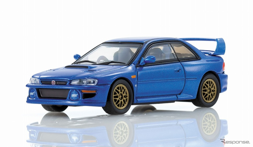 SUBARU IMPREZA 22B-STi VERSION《写真提供 京商》