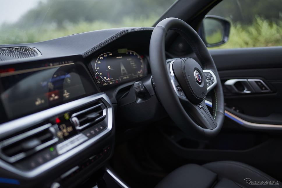 BMWアルピナ B3リムジーネ《写真提供 ニコルレーシングジャパン》