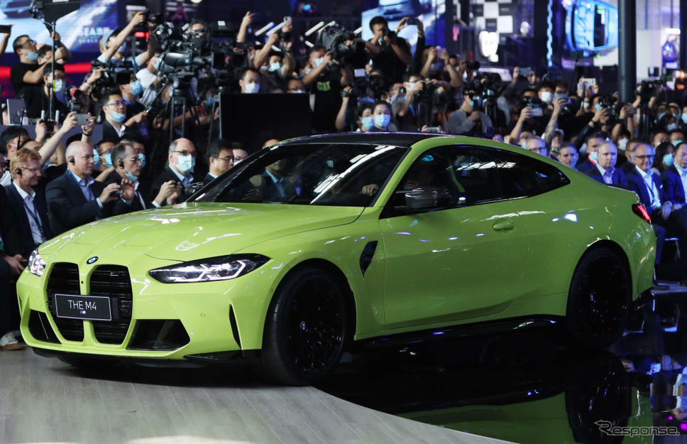 BMW M4クーペ新型(北京モーターショー2020)《Photo by VCG/VCG via Getty Images/ゲッティイメージズ》