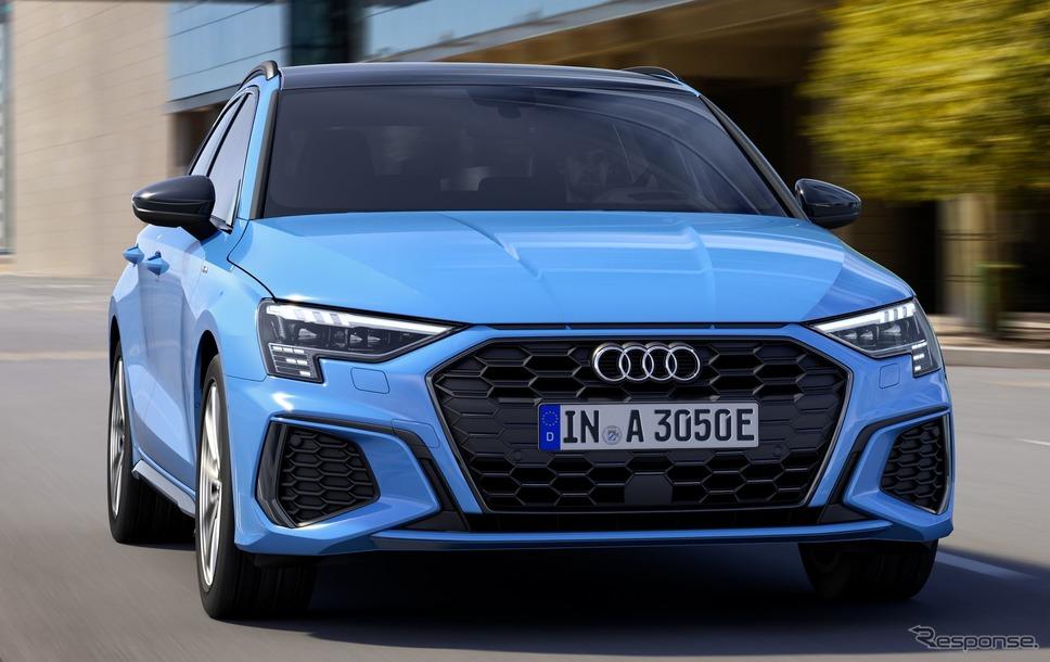 アウディ A3 スポーツバック 新型のPHV「40 TFSI e」《photo by Audi》