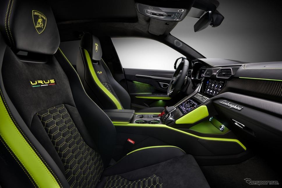 ランボルギーニ・ウルス ・グラファイトカプセル《photo by Lamborghini》