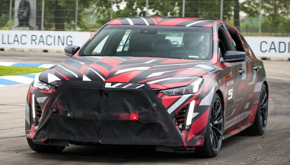 キャデラック CT5-V ブラックウィング の開発プロトタイプ《photo by Cadillac》