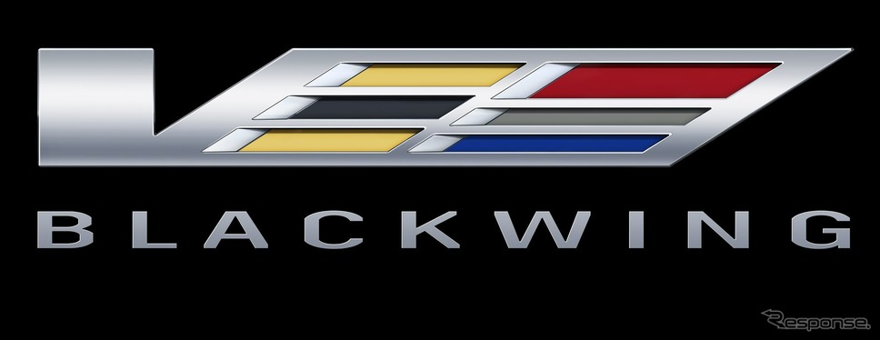 キャデラック「ブラックウィング」のロゴ《photo by Cadillac》