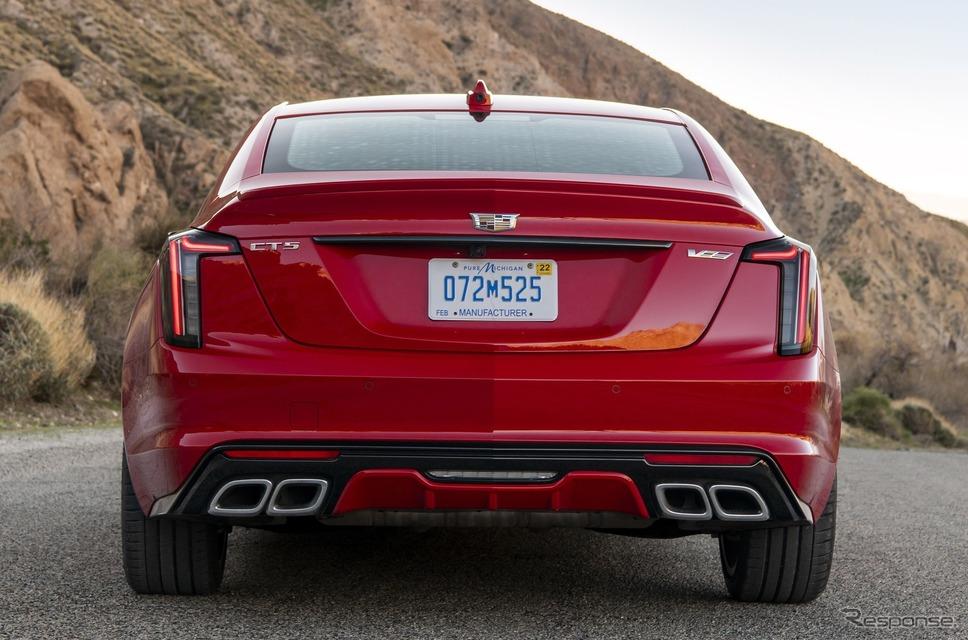 キャデラック CT5-V(参考)《photo by Cadillac》