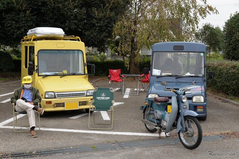 昭和平成の軽自動車展示会《写真撮影 嶽宮三郎》