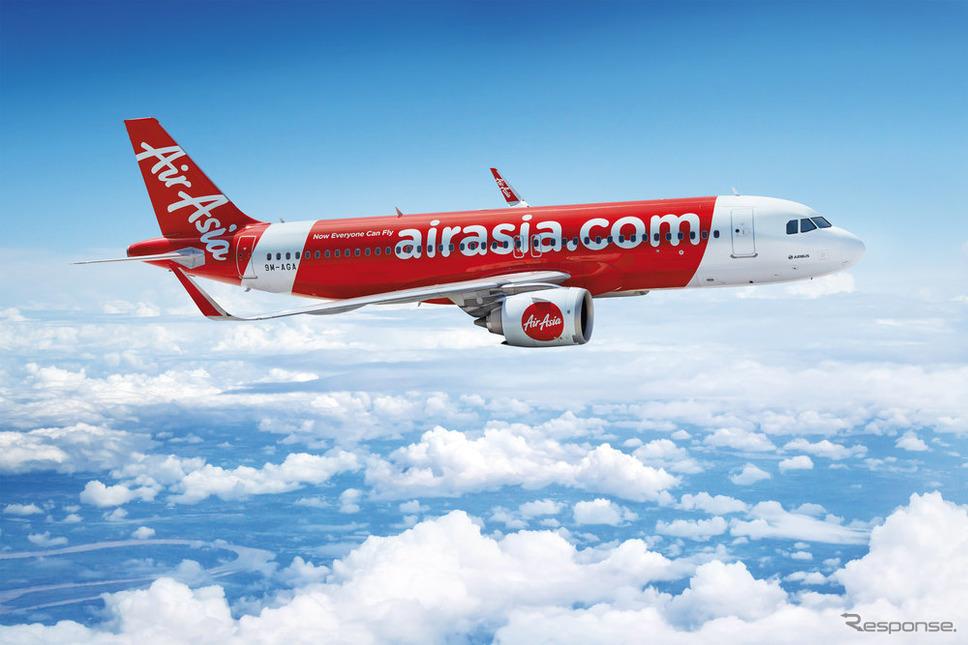 エアアジア機《写真提供 エアアジア》