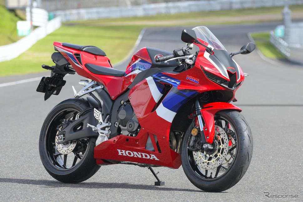ホンダ CBR600RR 新型《撮影:柴田直行/ホンダモーターサイクルジャパン》