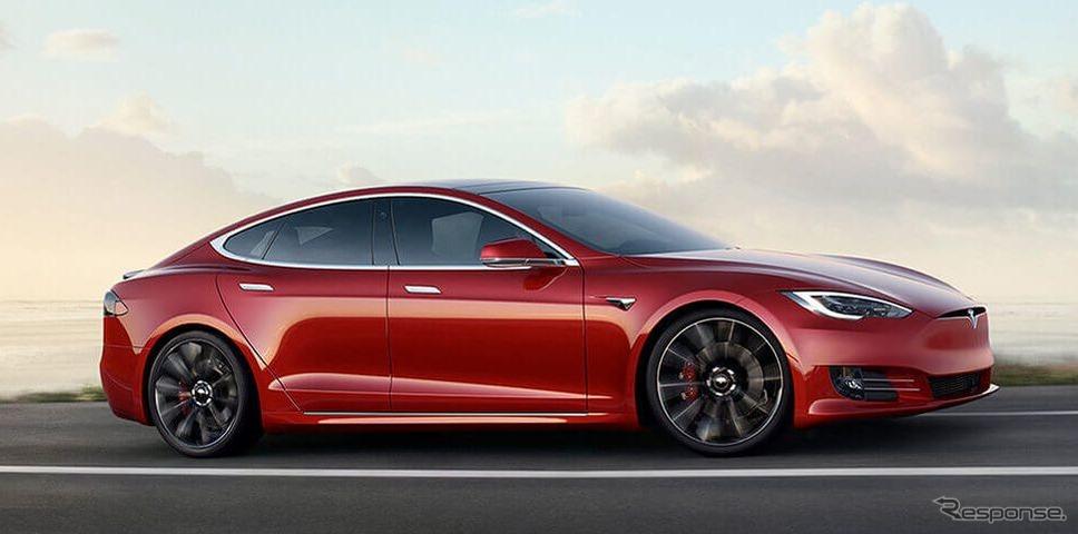 テスラ・モデルS《photo by Tesla》