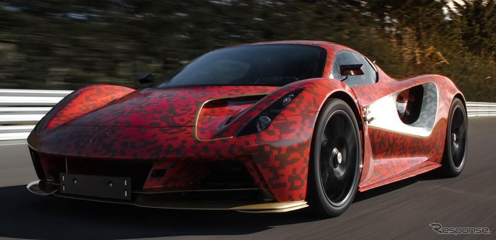 ロータス・エヴァイヤ のプロトタイプ(参考)《photo by Lotus Cars》