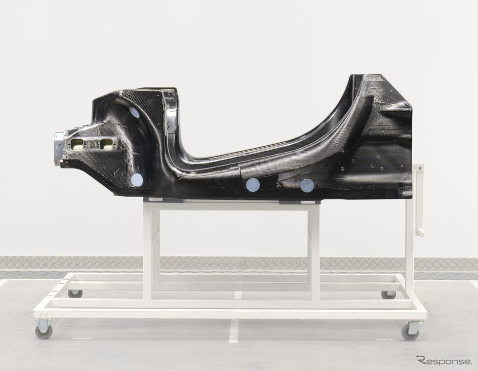 マクラーレンオートモーティブの次世代電動スーパーカー向けに新開発された軽量アーキテクチャ《photo by McLaren Automotive》