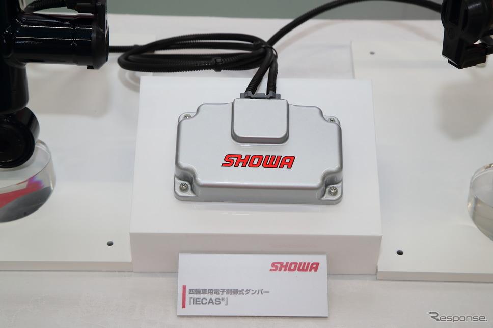 ショーワの四輪車用電子制御式ダンパー IECAS《写真撮影 山内潤也》