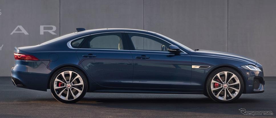 ジャガー XF 改良新型《photo by Jaguar》