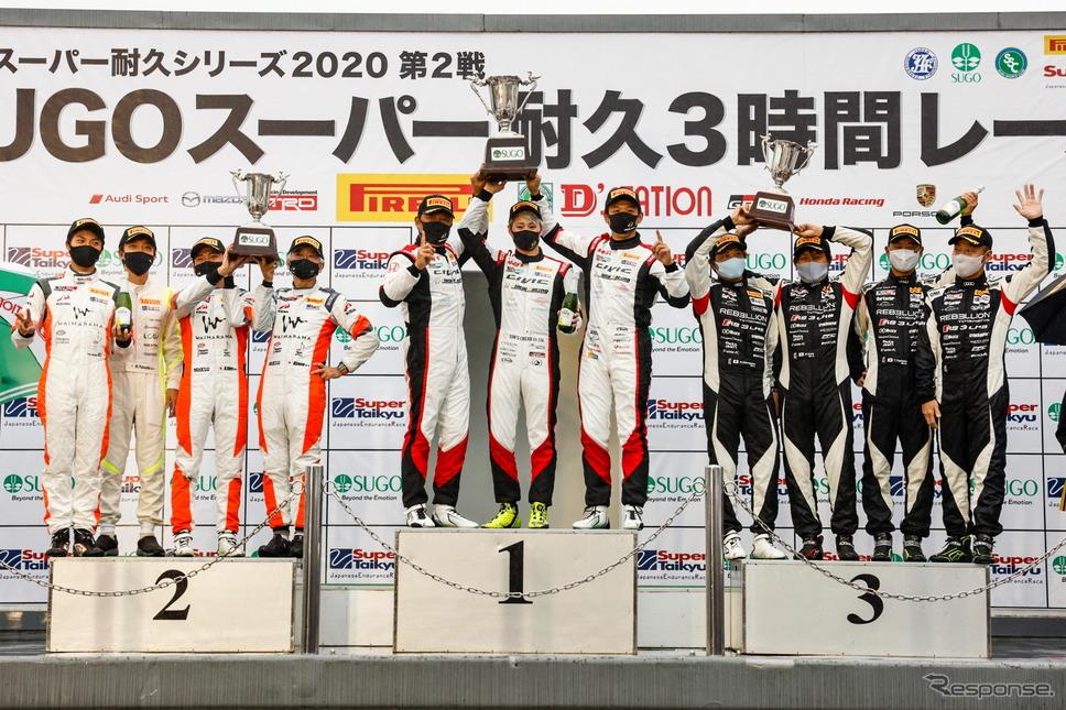 2020スーパー耐久 第2戦 Gr.1決勝《写真撮影 益田和久》